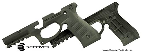 RECOVER Tactical BC2 Beretta Grip & Rail System for the Beretta 92 M9 - OLIVE DRAB - Middletown Outdoors