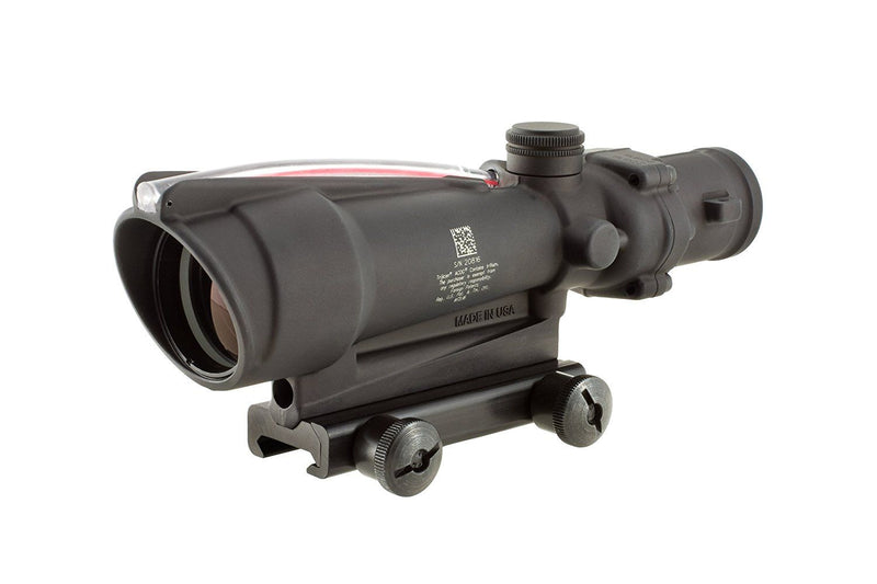 Trijicon ACOG 3.5 X 35 Scope Dual Illuminated Crosshair .308 Ballistic Reticle, Red