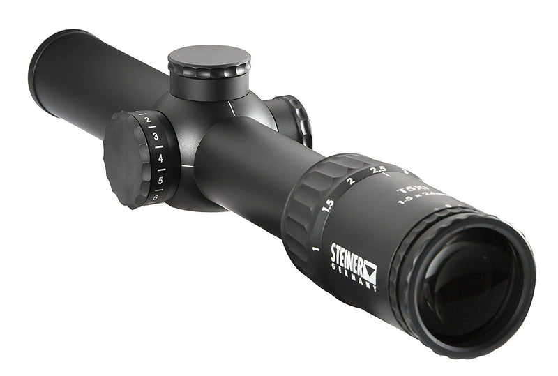 Steiner T5Xi 1-5x 24mm Riflescope, 3TR 5.56mm Reticle