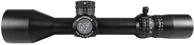 NightForce NX8 2.5-20x50 F1 - MOA - Middletown Outdoors