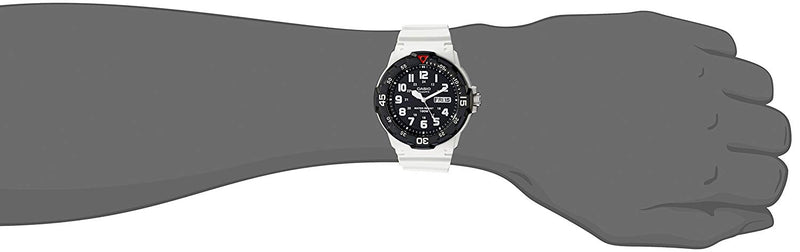 Casio Men's MRW200HC Classic Stainless Steel Watch