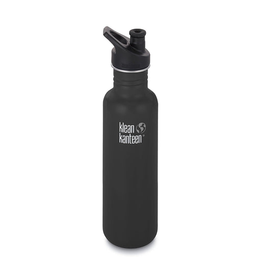 Klean Kanteen 27oz Classic Stainless Steel Water Bottle Sport Cap 3.0 - Brushed Stainless