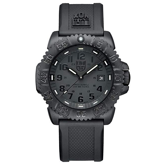 Luminox Evo Navy Seal Blackout Mens Watch 3051.BLACKOUT - Middletown Outdoors