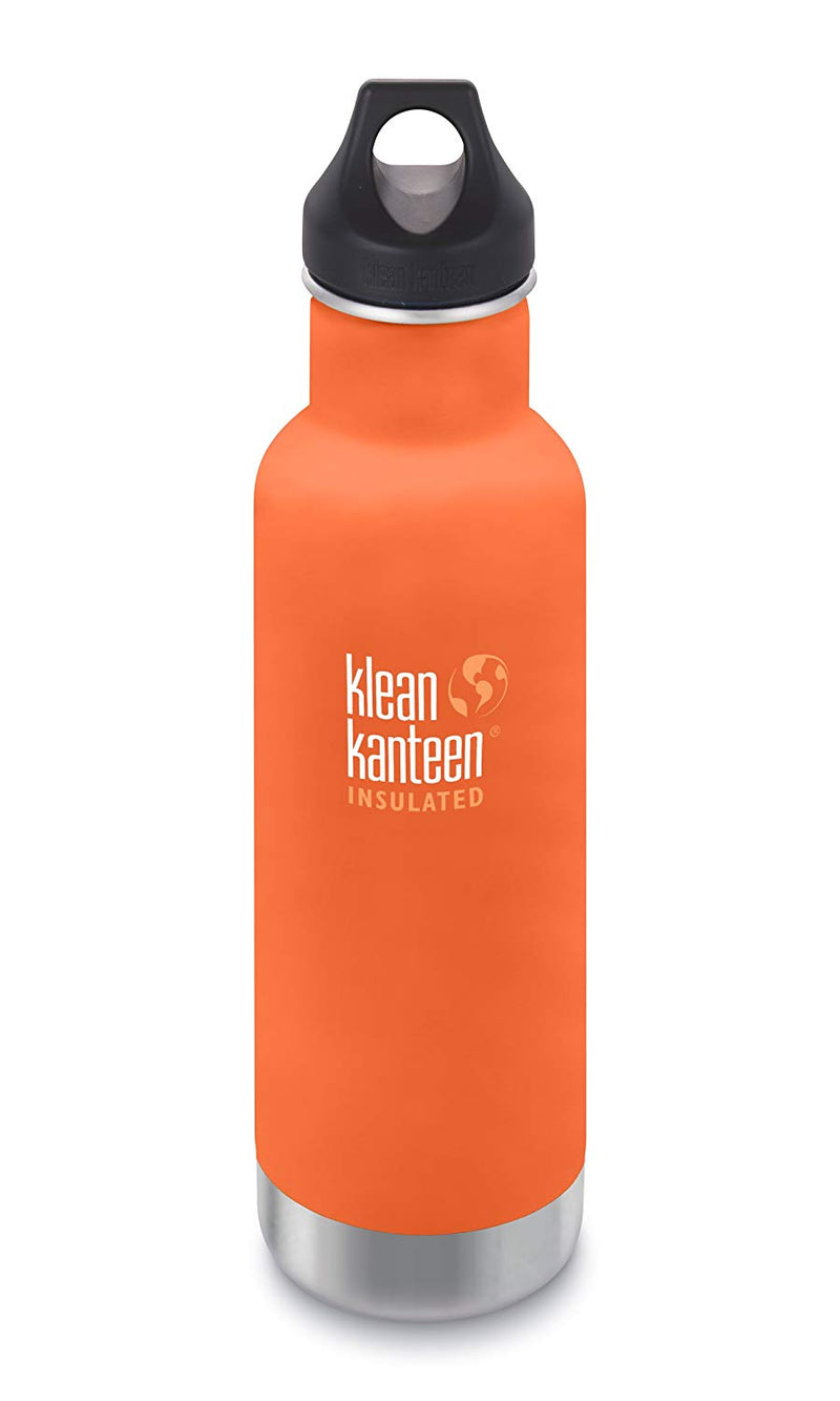Klean Kanteen 20oz Water Bottle with Loop Cap