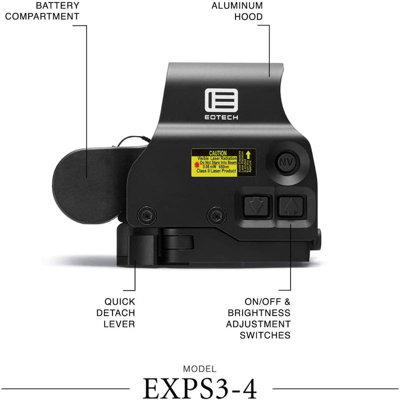 EOTech EXPS3-4 Holographic Sight 65 - Middletown Outdoors