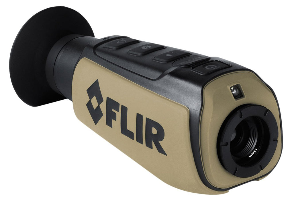 FLIR Systems Scout III-320 Thermal Imager, Detector 320X240 60Hz, Black/Brown