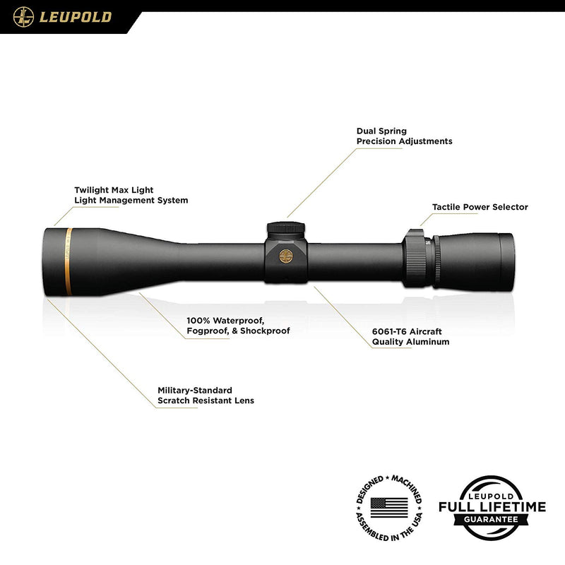 Leupold VX-3i 4.5-14x40mm Riflescope Duplex Reticle - Middletown Outdoors