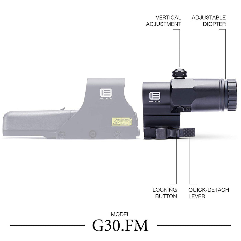EOTECH G.30 - 3 Power Magnifier with Quick Disconnect Mount