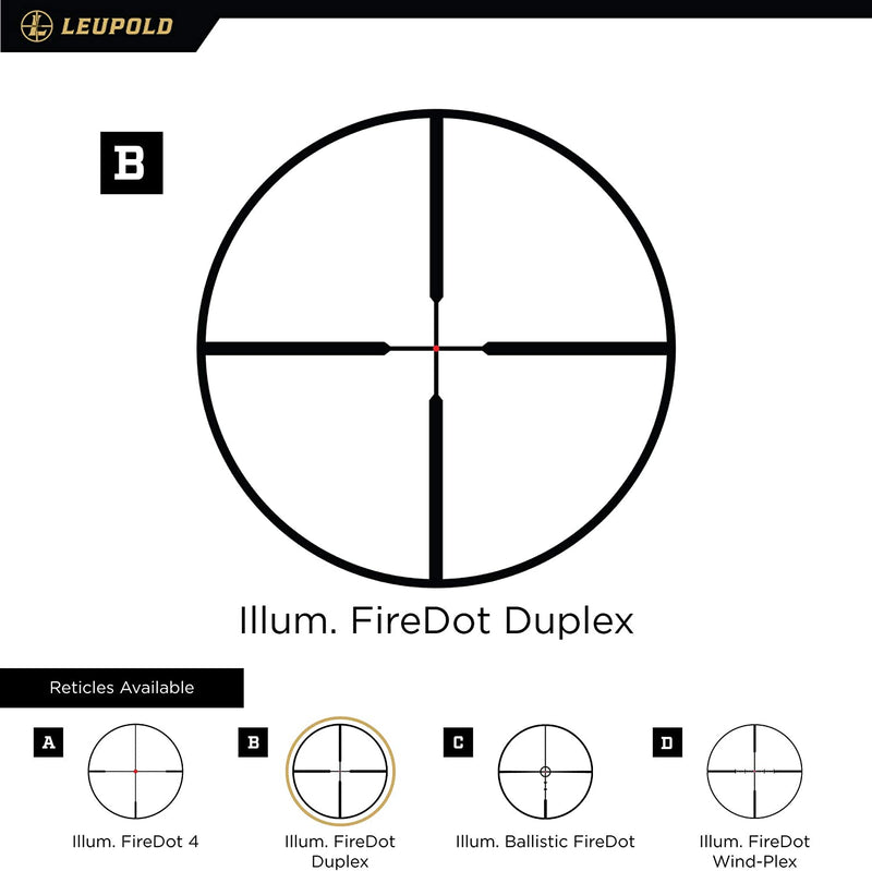 LEUPOLD SCOPE VX-R 3-9X40 30MM FIREDOT DUPLEX MATTE