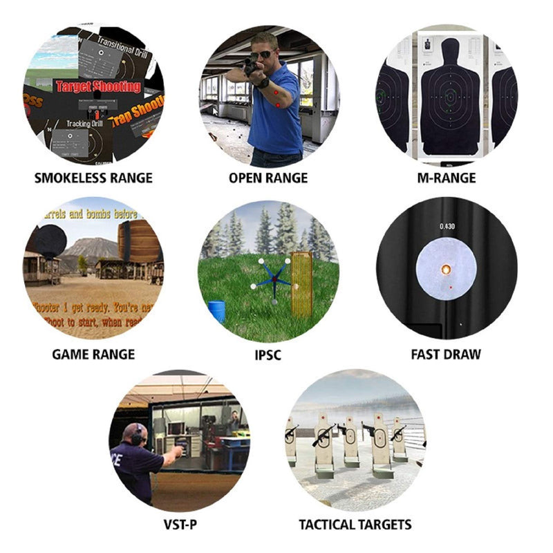 Diamond Smokeless Range Simulator Combo Package - All in one Fully Comprehensive smokeless Range Combo Package with Eight Training simulators