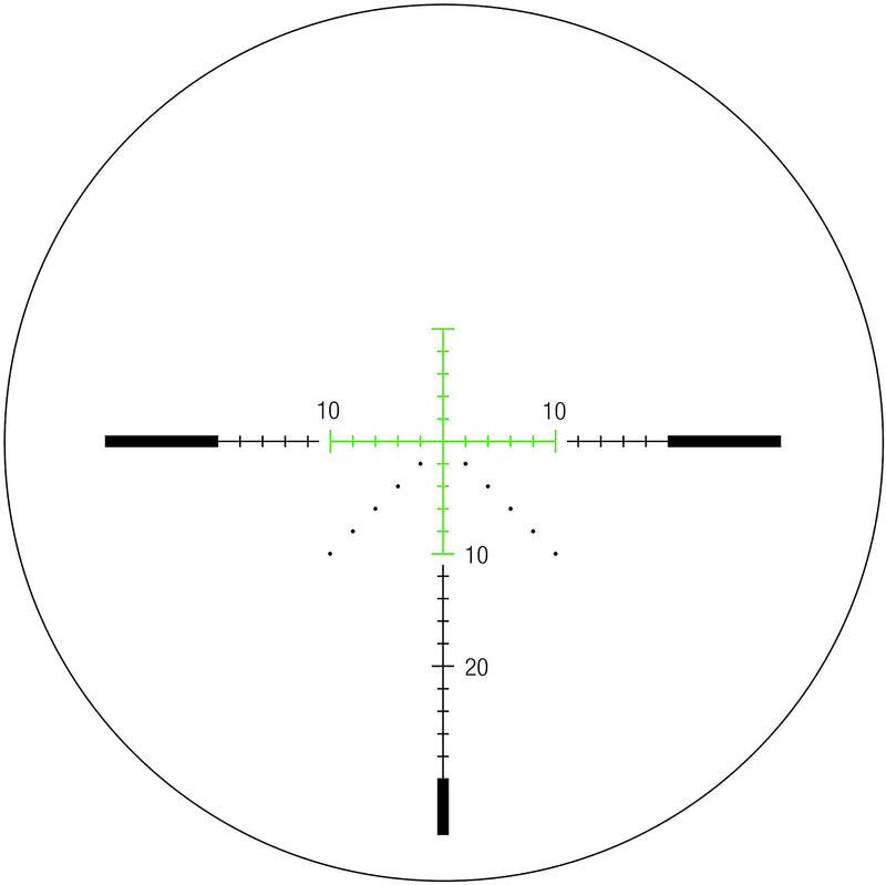 Trijicon RS29-C-1900021 AccuPower 4-16x50 Riflescope MOA Crosshair with Green LED, 30 mm Tube