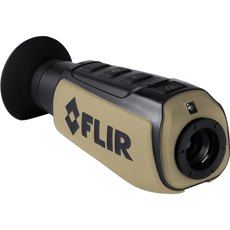 FLIR  Scout III-240 Thermal Imager, Detector 240X180 30Hz, Black/Brown - Middletown Outdoors