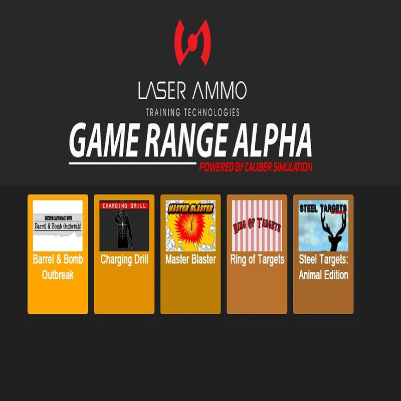 GAME RANGE ALPHA - Five Marksmanship Game Add On for the Smokeless Range