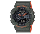 Casio Men's GA110LN-3ACR G-Shock Green Sports Watch