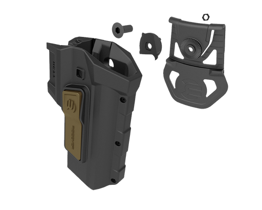 RECOVER Tactical HC11 ACTIVE RETENTION HOLSTER FOR THE RECOVERED 1911 - RIGHT TAN