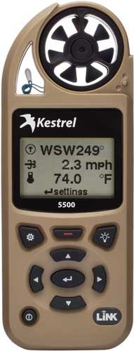 Kestrel 5500 Weather Meter w/ LiNK & Vane Mount Desert