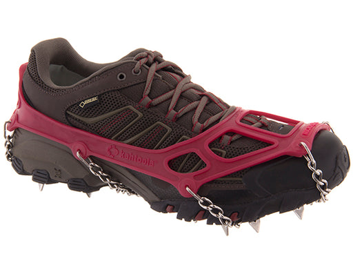 Kahtoola MICROspikes Footwear Traction - Red Large