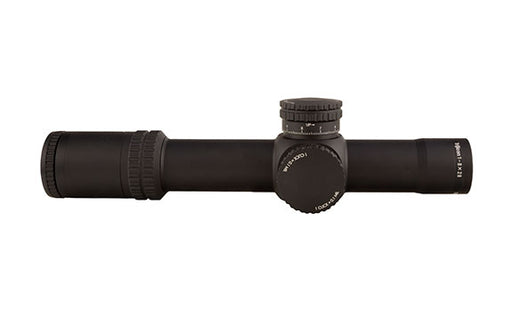 AccuPower® 1-8x28 Riflescope MIL Segmented-Circle Crosshair w/ Red LED, 34mm Tube