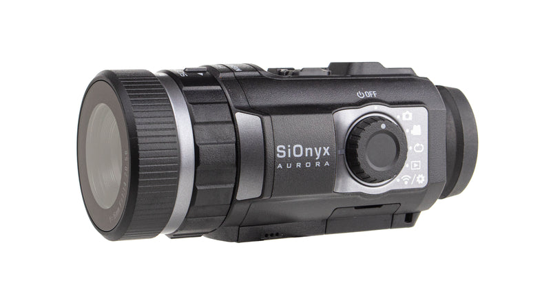 SIONYX Aurora Black I Full-Color Digital Night Vision Camera with Hard Case I Ultra Low-Light IR Night Vision Monocular I Weapon Rated, Water Resistant, WiFi & Time Lapse. (HARD CASE)