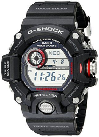 Casio Men's G-Shock Rangeman Solar Atomic Watch