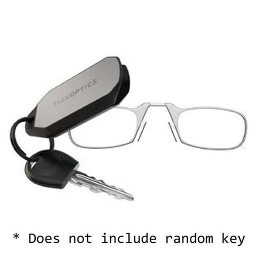 ThinOptics Keychain Case w/ Readers, +2.0, C