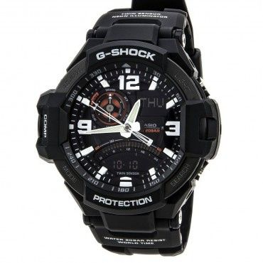 Casio G-Shock GA-1000-1A Aviation Series Men's Luxury Watch, One Size | Black