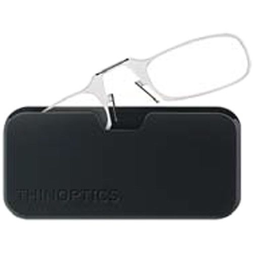 ThinOptics Universal Pod (Crystal Clear) and Reading Glasses +1.50