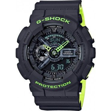 Casio Men's GA110LN-8ACR G-Shock Black Sports Watch
