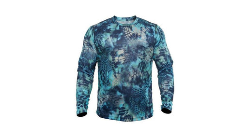 Kryptek Hyperion Long Sleeve Camo Shirt - Lightweight, Birds-Eye Mesh for Hunting & Fishing Shirt - Pontus