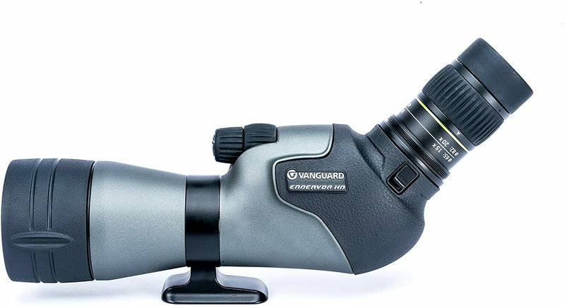Vanguard Endeavor HD 65A Angled Eyepiece Spotting Scope, 15-45x65, ED Glass 65mm