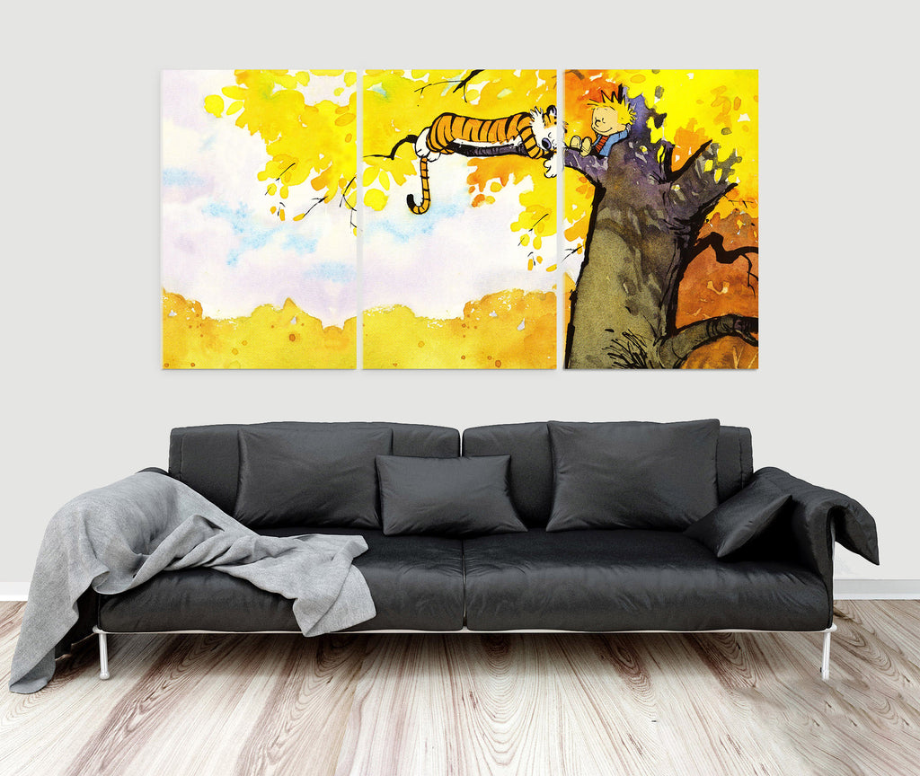 Fancy Calvin And Hobbes Wall Art Photos - Wall Art Collections ...