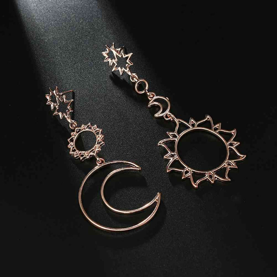 DAY & NIGHT MINIMAL EARRING