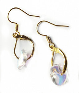 Translucent Glass Bead Earrings