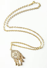 Load image into Gallery viewer, Rhinestone Pendant Necklace -