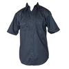Men's Twill Uniform Work Shirt with Button front Closure