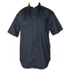 Men's Twill Uniform Western Work Shirt with Button front Closure