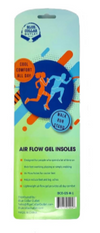 Air Flow Gel Insoles for Women with Air Flow, Comfort-Soft Gel Cushioning, Orthotic and Heel Support
