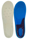 Air Flow Gel Insoles for Men with Air Flow, Comfort-Soft Gel Cushioning, Orthotic and Heel Support