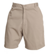 Men's Khaki Regular Twill Shorts, Occupational Uniform Work Pants