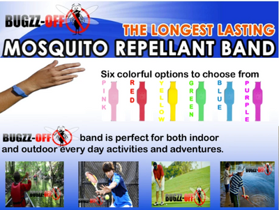 Mosquito Repellant Bands