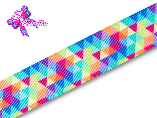 Barrotado Formas – Triangulos, Multicolor, Colores,
