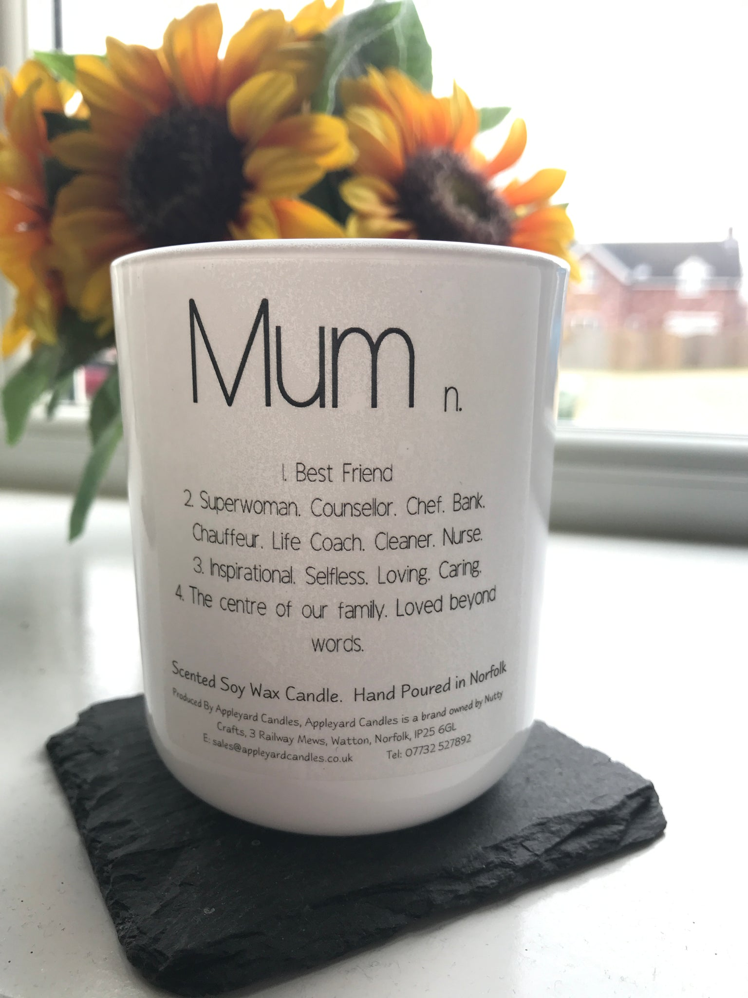 Luxury 'Mum' Scented Candle