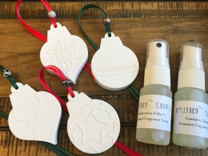 Christmas Hanging Ornament - Set of 4