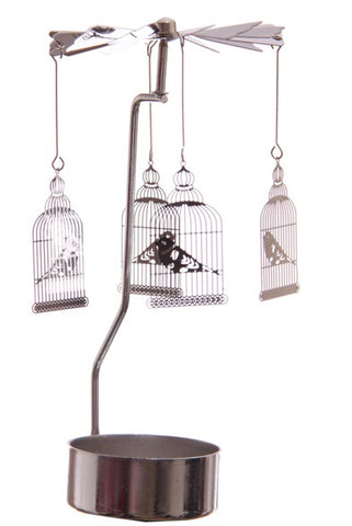 Tealight Spinner - Birdcage