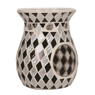 Tealight Wax Melter - Black Diamonds