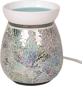 Mosaic Electric Wax Melter - Blue