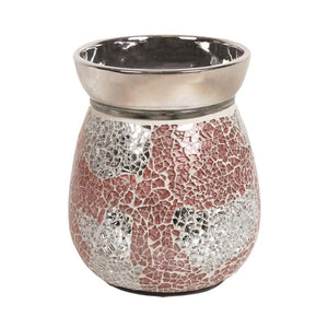 Mosaic Electric Wax Melter - Coral