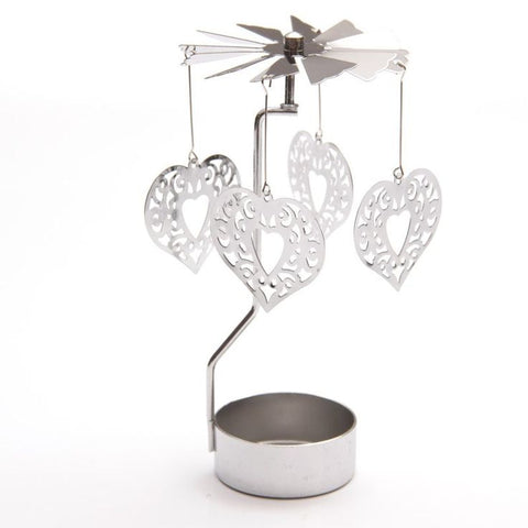 Tealight Spinner - Heart