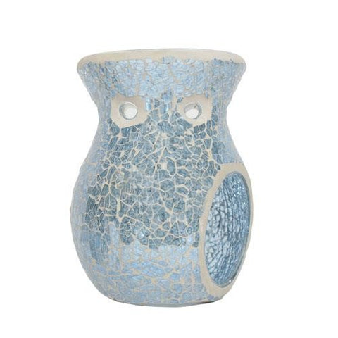 Tealight Wax Melter - Ice Blue
