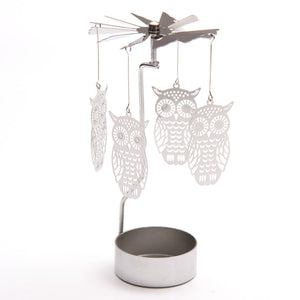 Tealight Spinner - Owl
